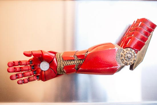 The 3D Printed Iron Man arm, KT Crabb Photography